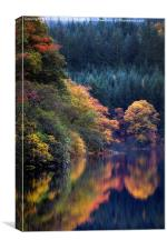Scotland in Autumn, Canvas Print