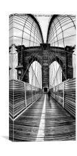 Brooklyn Bridge , Canvas Print