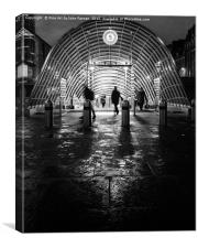 St Enoch Station Glasgow, Canvas Print
