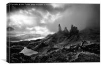 old man of Storr, Canvas Print