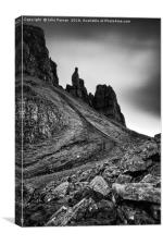 The Needle Quiraing, Canvas Print