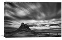 Lindisfarne Castle, Canvas Print