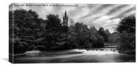 University of Glasgow, Canvas Print
