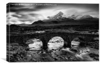 Sligachan Bridge Skye, Canvas Print