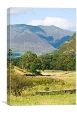 Blencathra, Lake District, Cumbria, Canvas Print