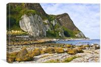 Antrim Coast, Northern Ireland, Canvas Print