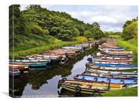 Little Boats, Killarney, Kerry, Ireland, Canvas Print