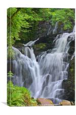 Torc Waterfall, Killarney, Kerry, Ireland, Canvas Print
