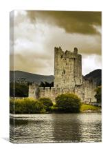 Ross Castle, Killarney, Kerry, Ireland, Canvas Print