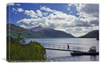 Inveruglas, Loch Lomond, Scotland, Canvas Print