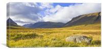 Glencoe, Highlands of Scotland, Canvas Print