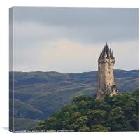 Wallace Monument, Stirling, Canvas Print