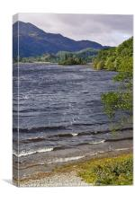 Loch Achray, The Trossachs, Scotland, Canvas Print