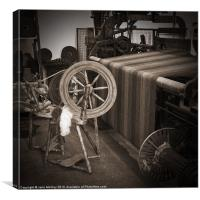 Spinning and Weaving, Canvas Print