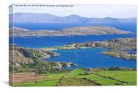 Derrynane Bay Kerry Ireland, Canvas Print