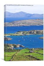 Derrynane Bay, Canvas Print