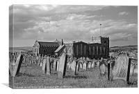 St Mary's Church Whitby, Canvas Print