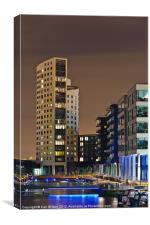 Clarence Dock Leeds 2, Canvas Print