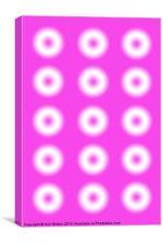 Pink Dots, Canvas Print