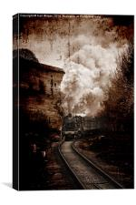 Coming into Oakworth , Canvas Print