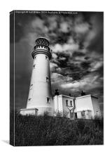 Flamborough Lighthouse, Canvas Print