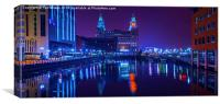 Liverpool's Liver Building, Canvas Print