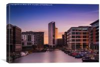 Clarence Dock at Sunset - 4