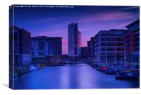 Clarence Dock at Sunset - 3