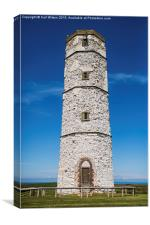 Flamborough Old Lighthouse Colour, Canvas Print