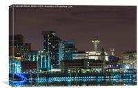 Radio City Liverpool, Canvas Print