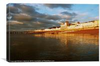 Hastings in January, Canvas Print