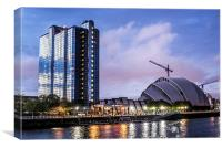 Crowne Plaza and Armadillo, Canvas Print