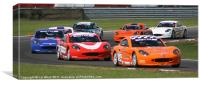 Ginetta Cup Racing, Canvas Print