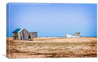 Dungeness Old Boat, Canvas Print