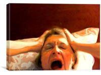 Morning Scream, Canvas Print