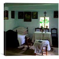 Cottage Room, Canvas Print