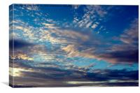 sky art, Canvas Print