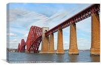 forth railway bridge, Canvas Print