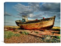 Dungeness boat, Canvas Print