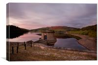 Ladybower, Canvas Print