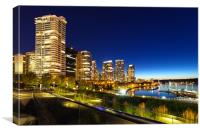 Downtown Vancouver, Canvas Print