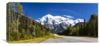 Majestic Mount Robson, Canvas Print
