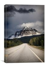Mountain Road, Canvas Print