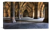 Pillars and arches, Canvas Print
