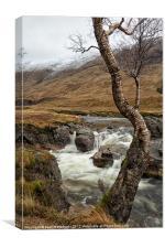 Glen Etive Scotland, Canvas Print