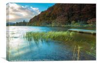 Loch Ard Jetty, Canvas Print