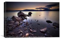 Trossachs, Loch Lomond, Canvas Print
