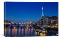 Shard View, Canvas Print