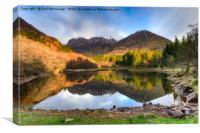 Glencoe Loch, Canvas Print