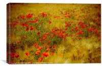 dots of red, Canvas Print